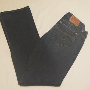 Lucky Womens Jeans 8/29 Lola Bootcut